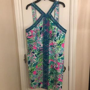 NWT Lilly Pulitzer Vena Shift Dress Early Bloomer